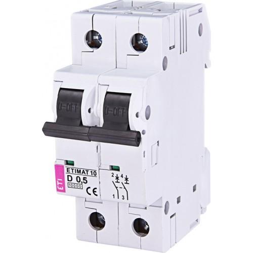 Автоматический выключатель ETI ETIMAT 10 2p B 25